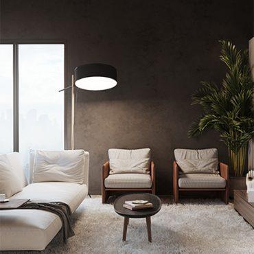 Living Room Interior Design For Apartment