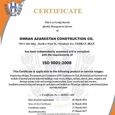 Quality Management System- ISO 9001:2008