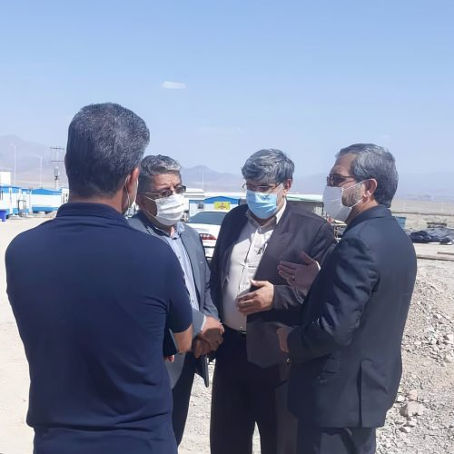 The member of Parliament's surprise visit to cultural and arts complex of Semnan